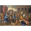 Buyenlarge 'Abduction of the Sabine Women' by Nicolas Poussin Painting Print