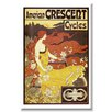 Buyenlarge 'American Crescent Cycles' by Alphonse Mucha Vintage Advertisement