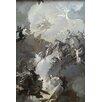 Buyenlarge 'Glorification of the Royal Hungarian Saints' by Franz Anton Maulbertsch Painting Print