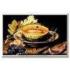 Buyenlarge A Dish with Melons and a Slice of Watermelon by Giovanna Garzoni Painting Print on Wrapped Canvas