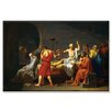 Buyenlarge Death of Socrates Painting Print on Wrapped Canvas