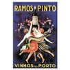 Buyenlarge Ramos Pinto by Leonetto Cappiello Vintage Advertisment on Wrapped Canvas