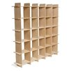 Sprout Mid-Century 25 Cube Storage Bookcase