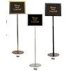 Testrite Pedestal Signframes