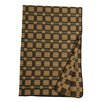 Wooded River Lake Shore Suede Throw