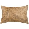 Wooded River Leather/Suede Lumbar Pillow