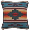 Wooded River Throw Pillow