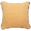 Wooded River Hayfield Throw Pillow