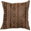 Wooded River Embossed Throw Pillow