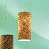 Innermost Cork 1 light Drum Pendant