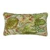 R&MIndustries Wild Orchids Lumbar Pillow