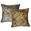 R&MIndustries Marbleize Jacquard Throw Pillow