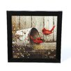 Timeless Frames 'Cardinals' by John Rossin Framed Photographic Print