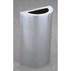 Glaro, Inc. 14-Gal Half Round Waste Receptacle Trash Can