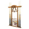 The Level Best Deluxe Wall Pool Cue Rack