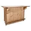 Montana Woodworks® Homestead Bar with Foot Rail
