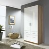 Rauch Celle Hinged 2 Door Combination Wardrobe
