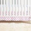 aden + anais Fluro Pink Classic Crib Skirt