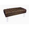 Rojo 16 Cote D' Azure Montecarlo Upholstered Bench