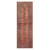 Herat Oriental Tribal Bokhara Hand-Knotted Orange/Ivory Area Rug