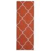 Herat Oriental Hand-Tufted Rust/Ivory Indoor Area Rug