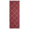 Herat Oriental Hand-Tufted Rust/Gray Indoor Area Rug
