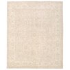 Herat Oriental Vegetable Dye Hand-Knotted Beige/Ivory Area Rug
