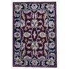 Herat Oriental Hand Tufted Wool Red/Black Area Rug