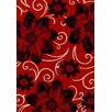 Brook Lane Rugs Viva Red Area Rug