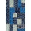 Brook Lane Rugs Innenteppich Renaissance in Blau
