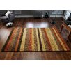 Brook Lane Rugs Winslow Hand-Knotted Rust Area Rug