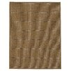 Brook Lane Rugs Check Flatweave Brown Area Rug