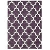 Brook Lane Rugs Arabesque Hand-Tufted Mauve Area Rug