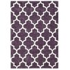 Brook Lane Rugs Handgetufteter Teppich Arabesque in Malve