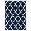 Brook Lane Rugs Arabesque Hand-Tufted Blue Area Rug