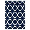 Brook Lane Rugs Handgetufteter Teppich Arabesque in Blau