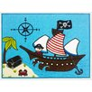 Brook Lane Rugs Bambino Blue Area Rug