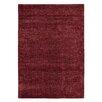 Brook Lane Rugs Handgewebter Teppich Conran in Rot