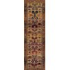 Brook Lane Rugs Gabbeh Brown Indoor/Outdoor Area Rug