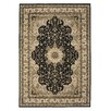 Brook Lane Rugs Kendra Cream/Black Area Rug