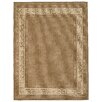 Brook Lane Rugs Greek Key Flatweave Brown Area Rug