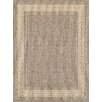 Brook Lane Rugs Greek Key Flatweave Taupe Area Rug