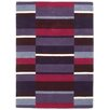 Brook Lane Rugs Jazz Hand-Woven Purple Area Rug