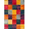Brook Lane Rugs Kaleidoscope Multi-Coloured Area Rug
