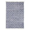 Brook Lane Rugs Murray Hand-Woven Blue Area Rug