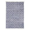 Brook Lane Rugs Handgewebter Teppich Murray in Blau