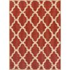 Brook Lane Rugs Teppich Trellis Flatweave in Rot