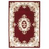 Brook Lane Rugs Royal Hand-Tufted Red Area Rug
