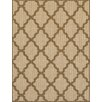 Brook Lane Rugs Trellis Flatweave Beige Area Rug