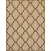 Brook Lane Rugs Teppich Trellis Flatweave in Beige